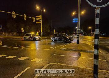 Automobilist vlucht na aanrijding op Westerstraat in Enkhuizen