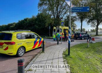 Vrouw aangereden op zebrapad in Venhuizen