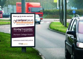 9 november Carrièrebeurs Westfriesland; voor de werkzoekende van nu en de talenten van morgen